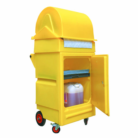Cart with Roll Holder maximum roll size 550mmØ x 520mm - PMCXL4