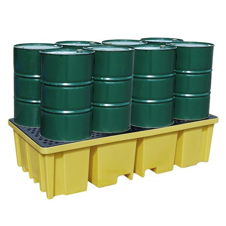 Spill Pallet for 8 x Drums - BP8FW