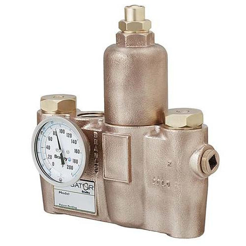 Mixing Valve for single shower or multiple eyewash units - SE-362