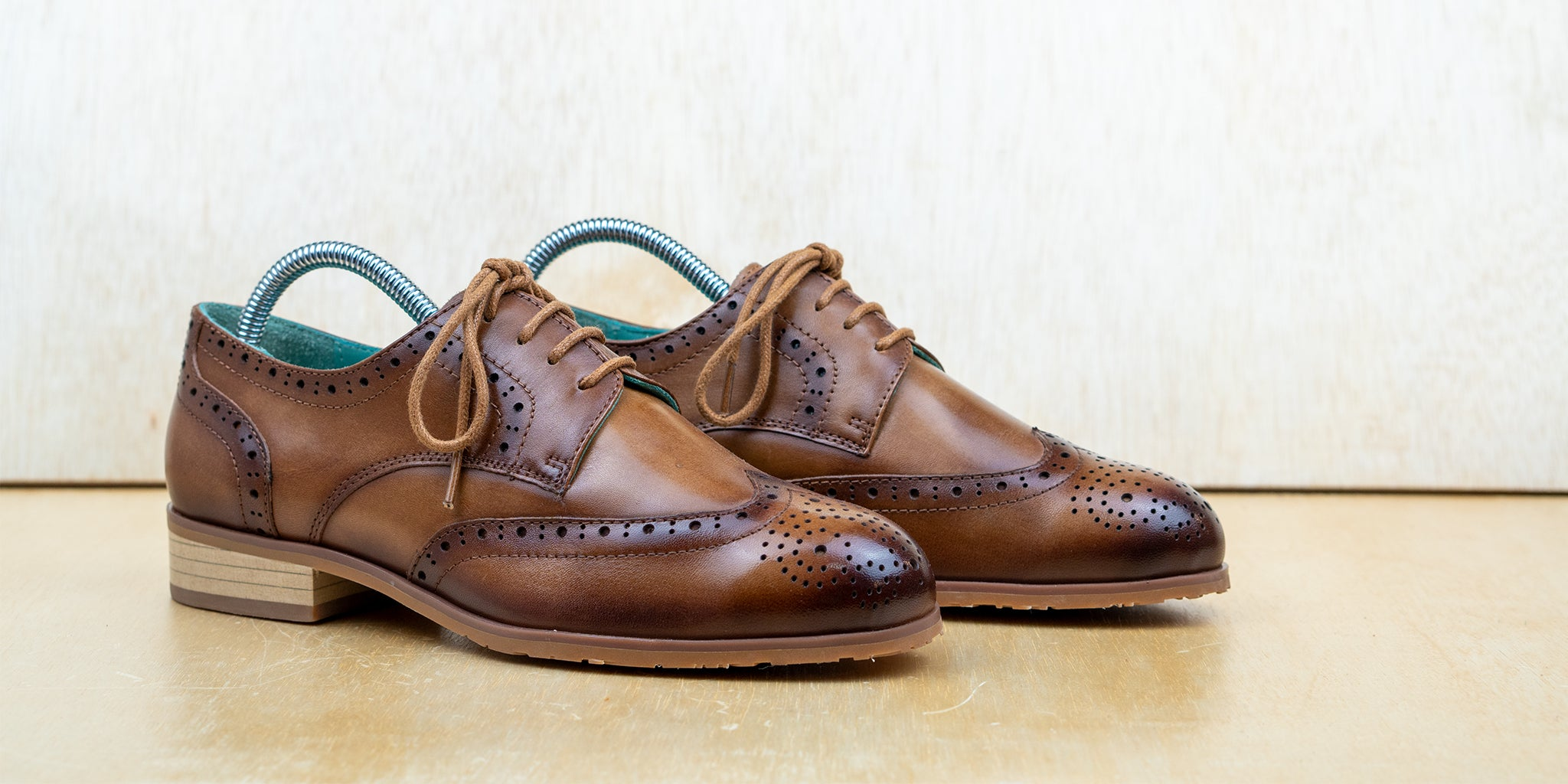 Full-Brogue Derby Brown