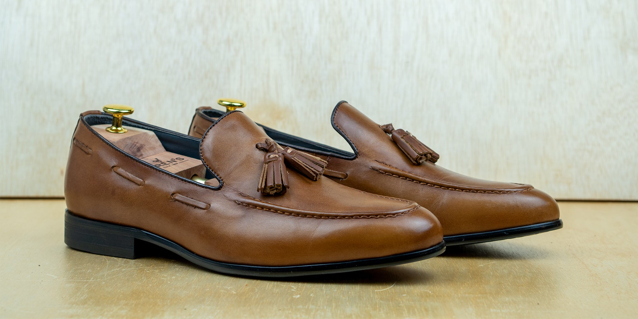 Tassel Loafer Tan