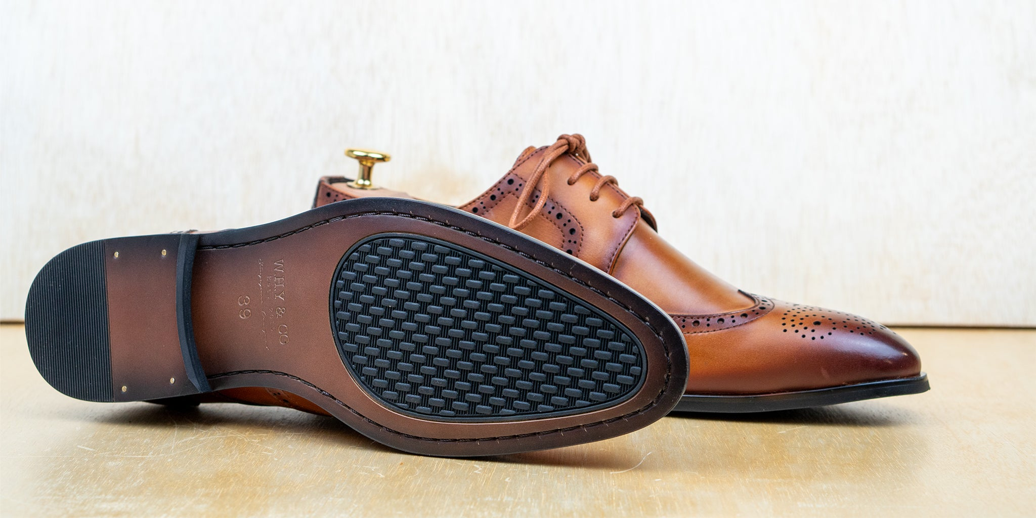 Long-Wing Brogue Brown