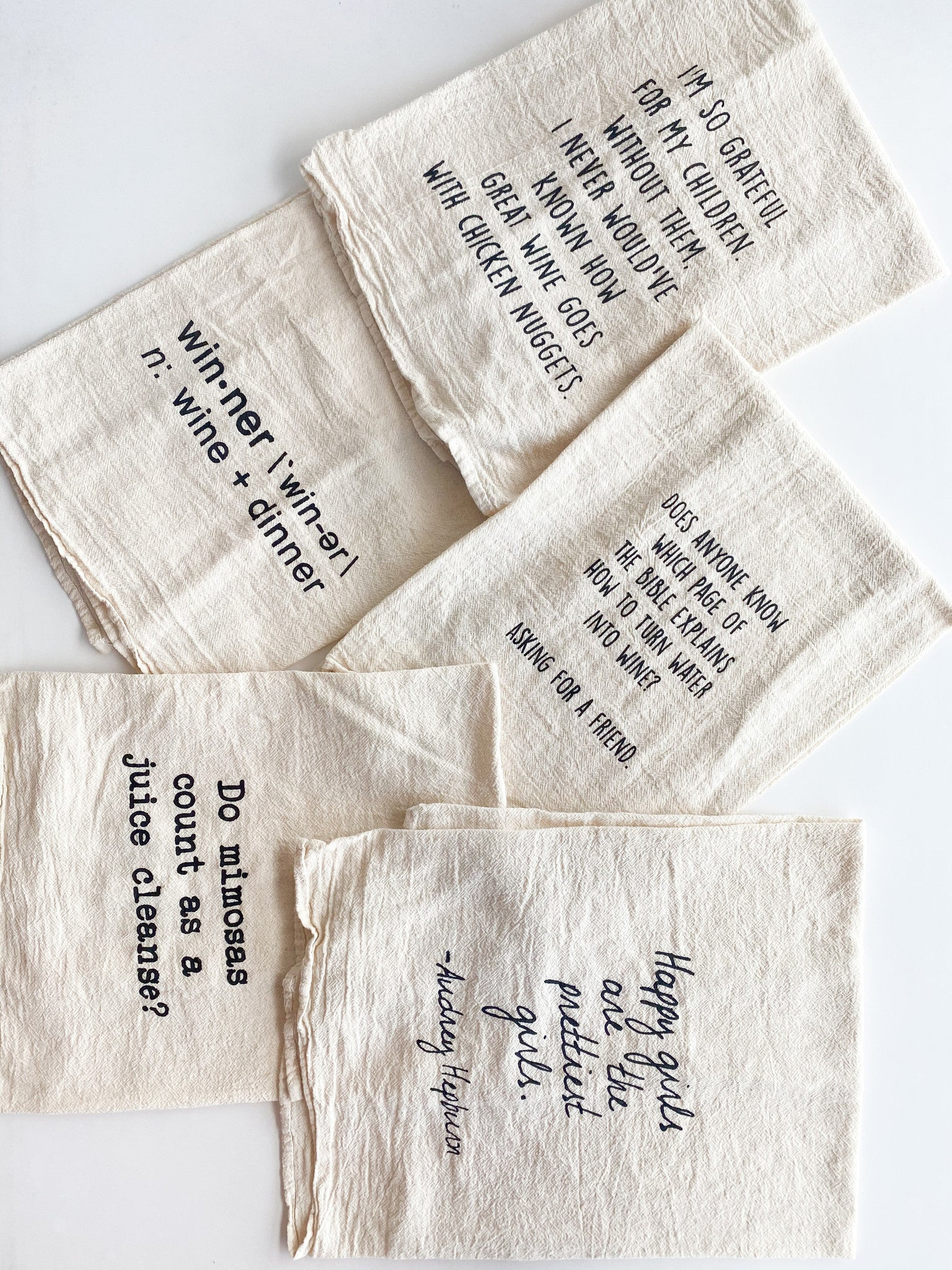 Tea Towels 100% Cotton