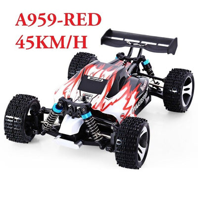 WLtoys High Speed Car 4WD A959 2.4G 4CH Shaft Drive RC Stunt Racing Car Remote Control Super Power Off-Road Vehicle toy car FSWB