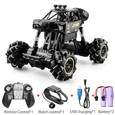 1:16 RC Car 4WD Radio Control Stunt Car Gesture Induction Twisting Off-Road Vehicle  Drift Toy High Speed Climbing RC Car