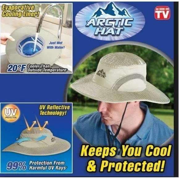 Hydro Cooling Sun Hat - Etrendpro