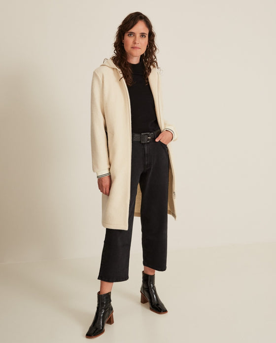 Wool Hooded Coat