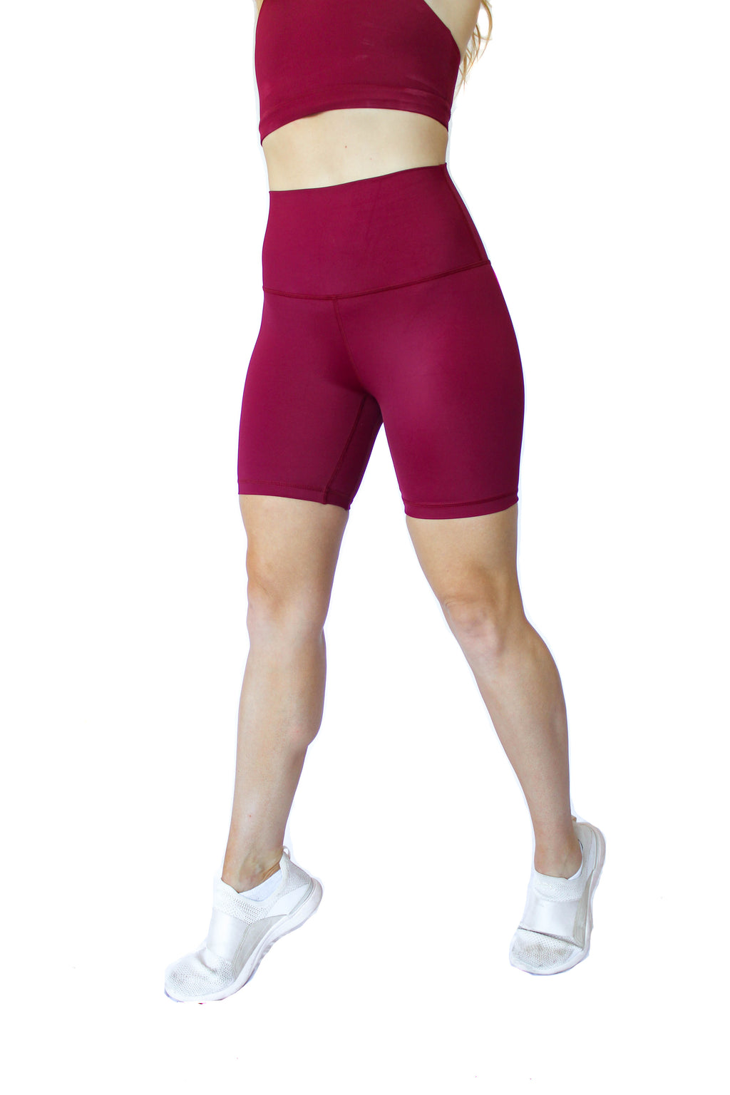 Maria High Rise Bike Short - Atún