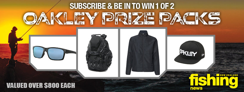 April Subscribe & Win: Oakley Prize Pack