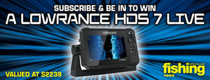 May Subscribe & Win: Lowrance HDS 7 LIVE