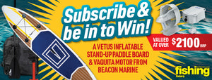 July Subscribe & Win: Motorised paddleboard set