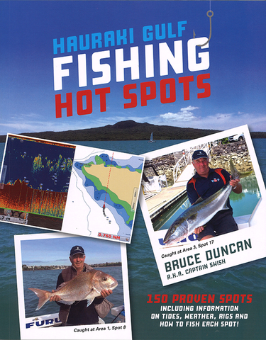 Hauraki Gulf Fishing Hot Spots by Bruce Duncan