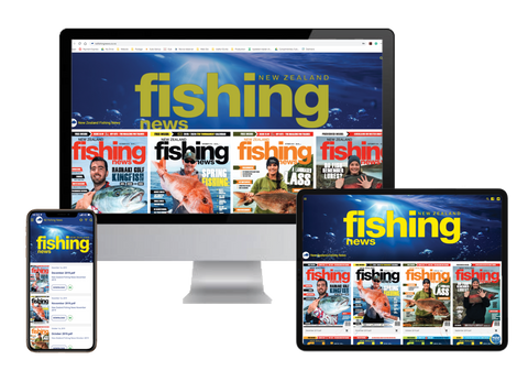 NZ Fishing News Digital Subscription