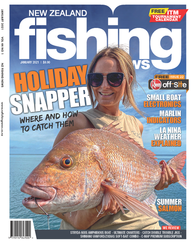 NZ Fishing News January 2021