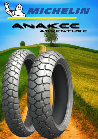 Michelin Anakee Adventure 90/90-21 & 150/70-18 COMBO