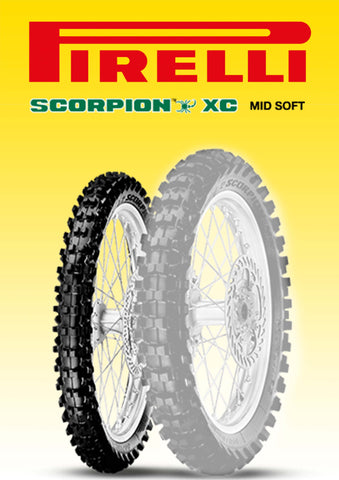 Pirelli Scorpion XC MidSoft 80/100-21