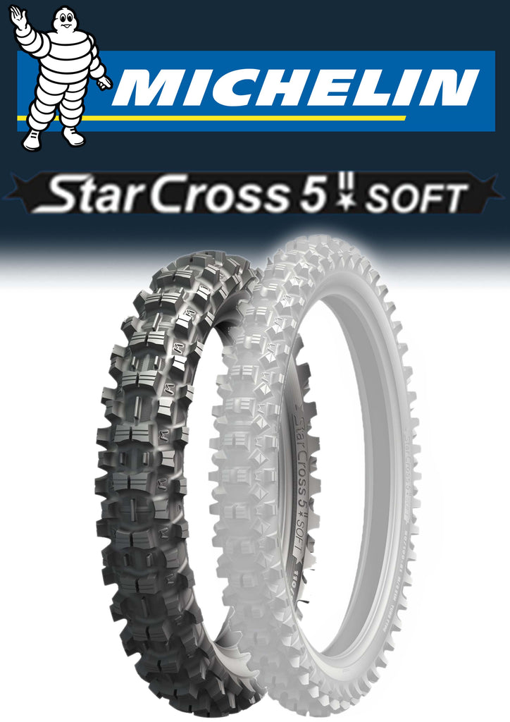 Michelin Starcross 5 Soft 120/90/18