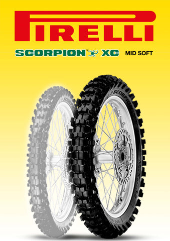 Pirelli Scorpion XC MidSoft 120/100-18