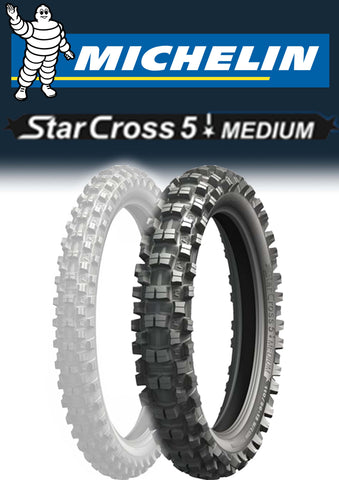 Michelin Starcross 5 Medium 110/100-18