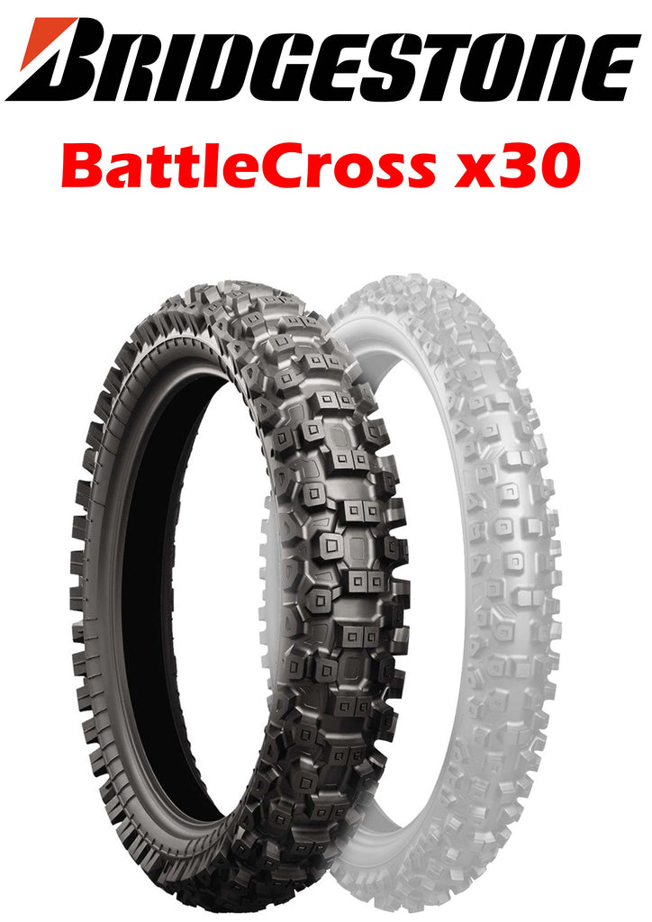 Bridgestone BattleCross X30 120/80-19