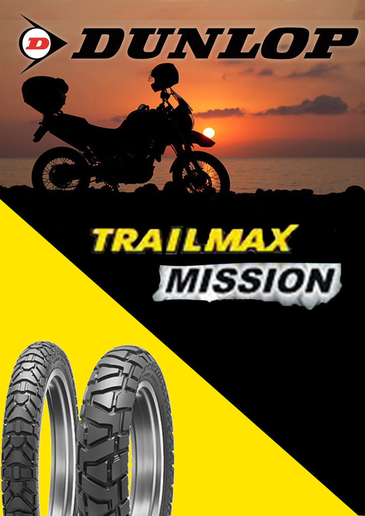 DUNLOP TRAILMAX MISSION 90/90-21 & 150/70-17 COMBO
