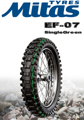 Mitas EF-07 Single Green 140/80/18
