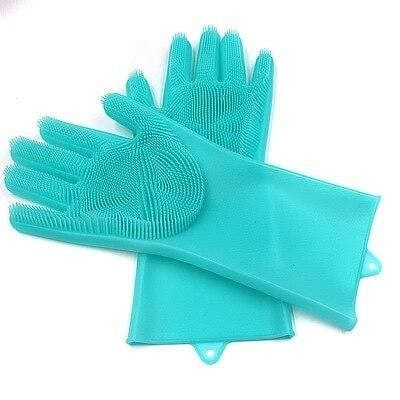 Dish Cleaning Silicone Gloves | 1 pair - Hygiene Village