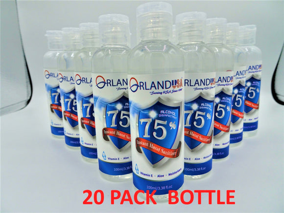 Hand Sanitizer | 20 Pack - Hygiene Village