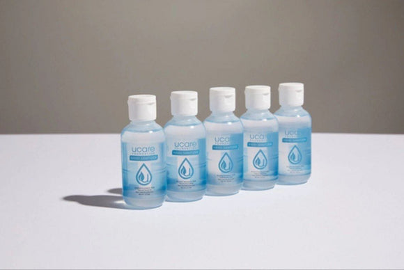 Hand Sanitizer | 2oz Bottles | 5 Pack - Hygiene Village