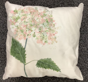 Cushion - Hand painted.