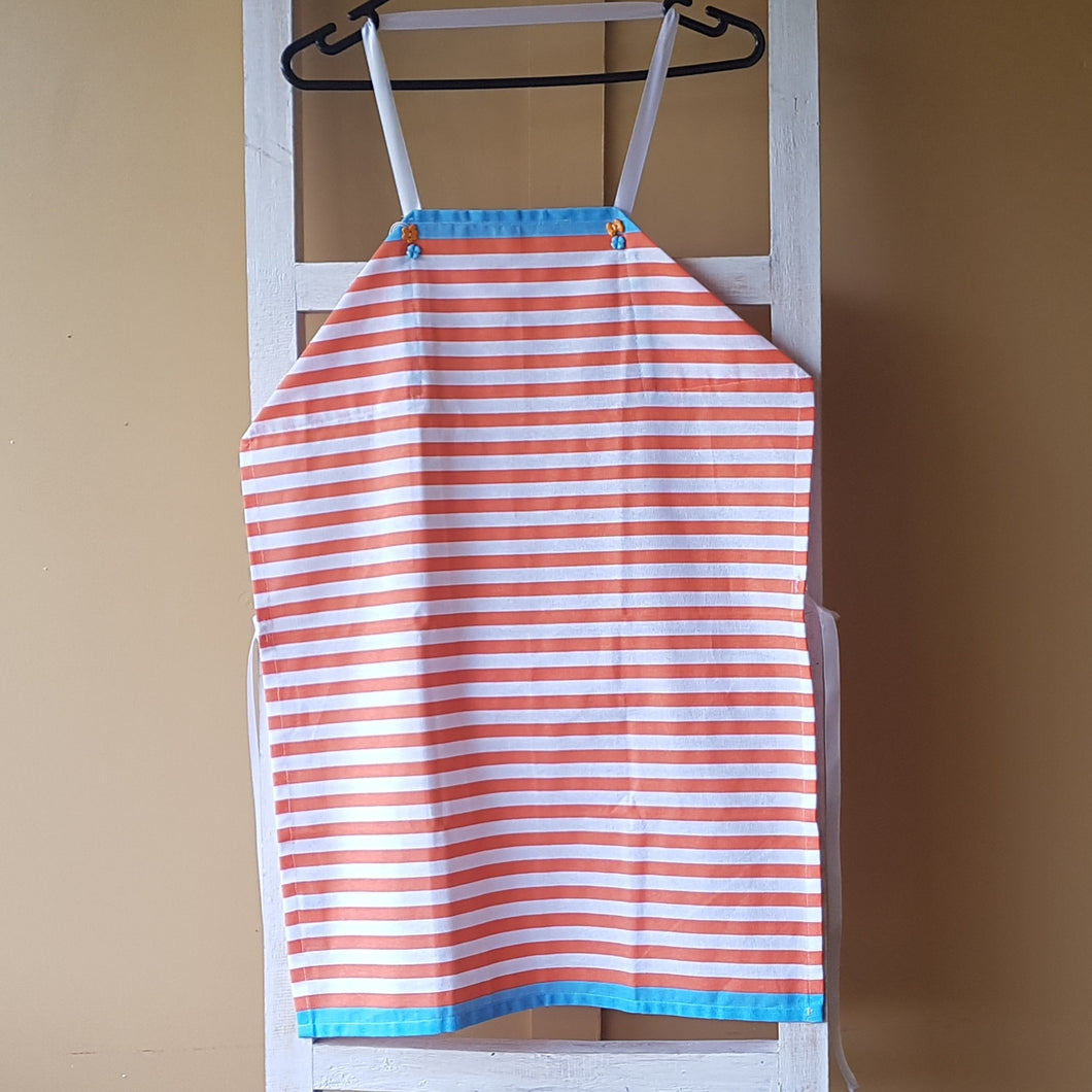 Apron - Orange Stripes