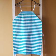 Load image into Gallery viewer, Apron - Teal stripes