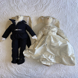 Soft Toys - Bride and Groom Bunnies