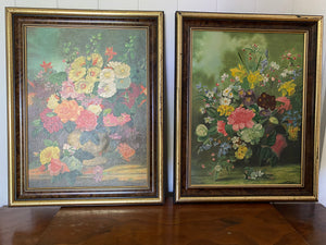 Framed Flower Pictures