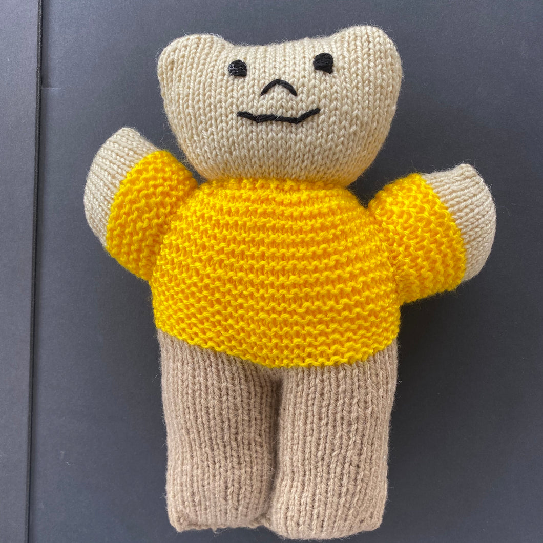 Soft Toy - Yellow Ted