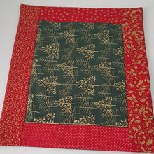 Load image into Gallery viewer, Christmas - Quilted Placemats (set of 4)