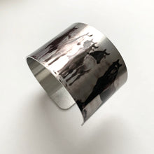 "Load image into Gallery viewer, ""The Wild Ones"" Aluminum Cuff Bracelet."