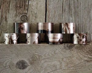 "Aluminum Cuff Bracelet. Wild Horse Photo Cuffs ""Chasing the Wind"""