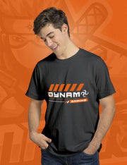 DYNAMO GAMING T-SHIRT (ORANGE DESIGN)
