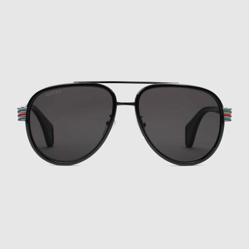 Gucci Aviator Sunglasses front