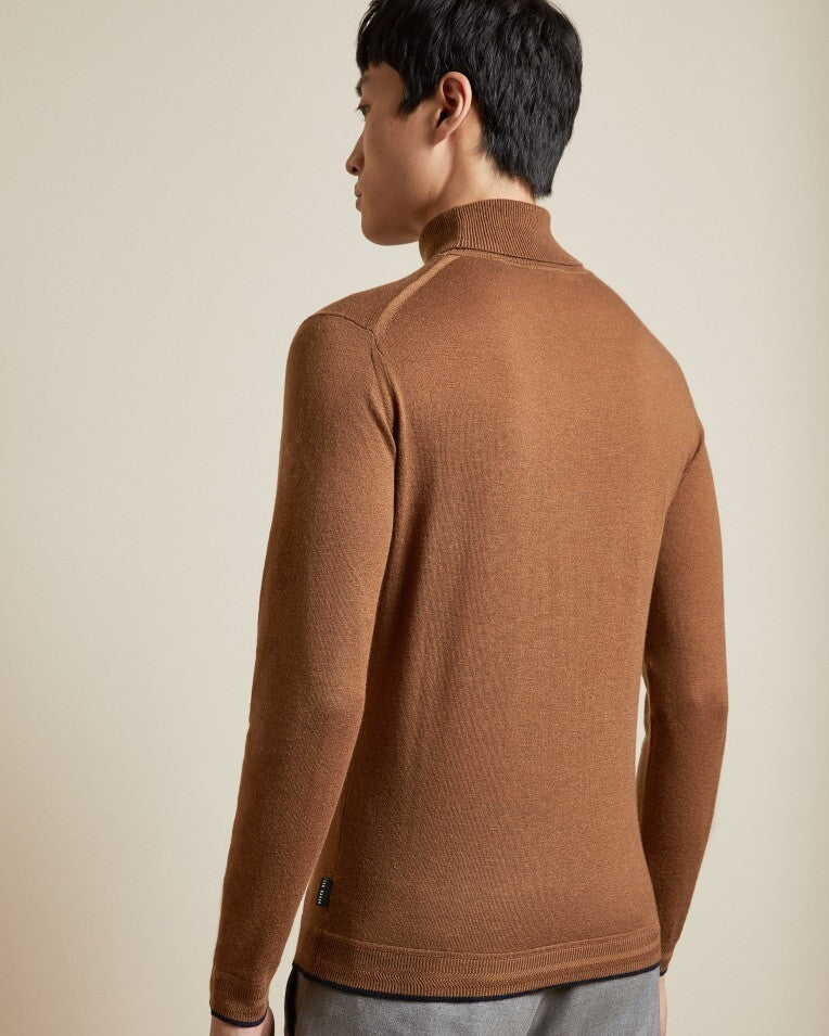 ted baker newtrik fitted roll neck