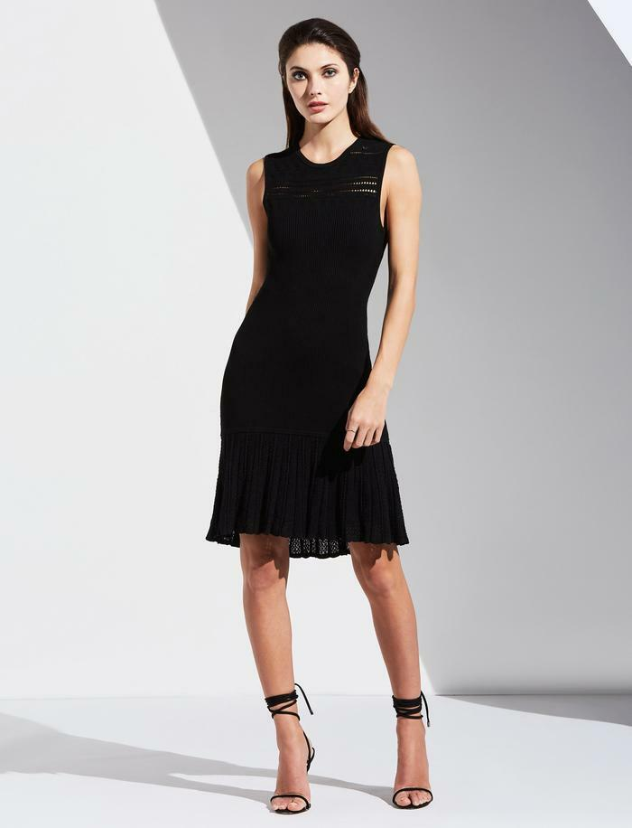 Bailey 44 Evalina Dress in Black model