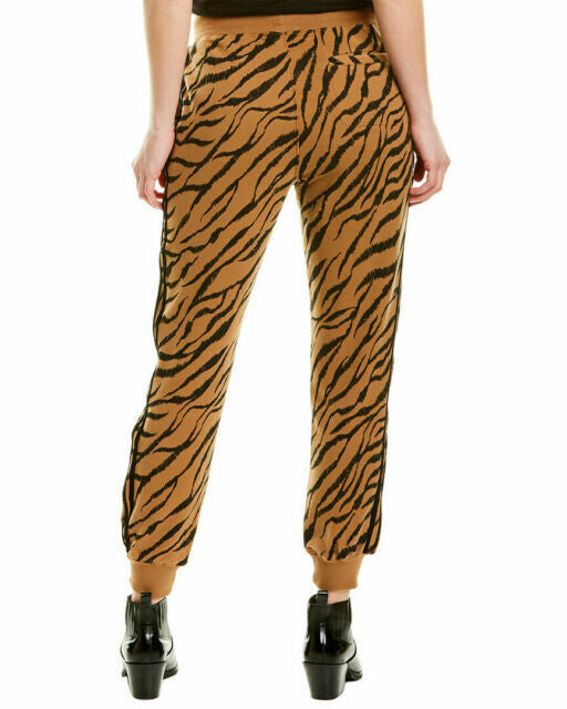 David Lerner Kendal High Rise Jogger in Tiger Stripe back