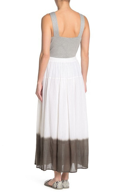Bailey 44 Monsoon Skirt in White and Palm back