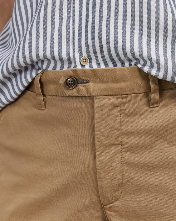 SEENCHI Slim fit cotton chinos