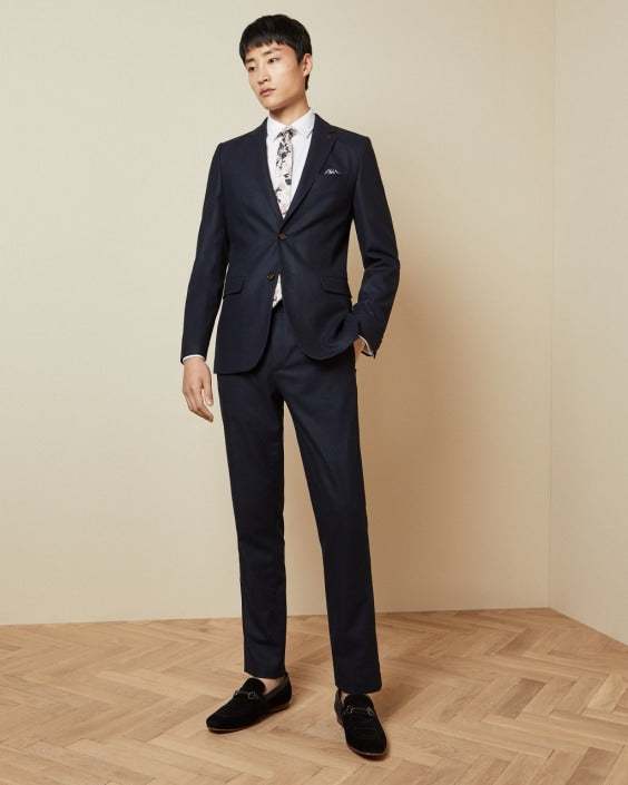 PADTRO Slim fit wool trousers