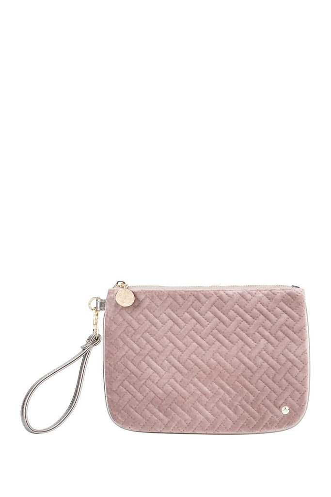 Stephanie Johnson Milan Large Flat Wristlet - Dusty Plum