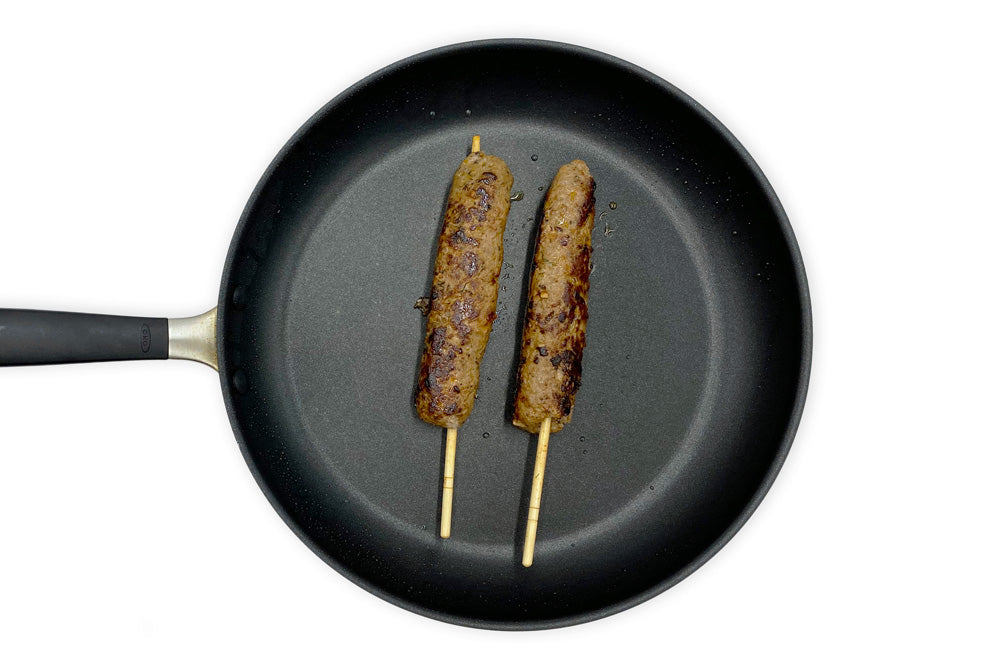 KASHKAVAL GARDEN - Skewers with Squash Caponata