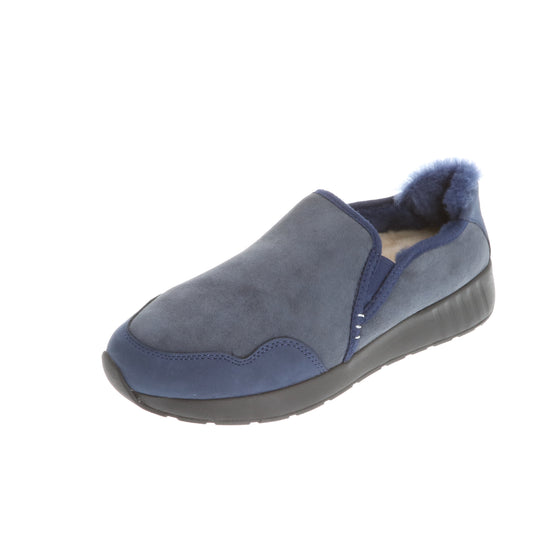 Ms. SNUG SlipOn, Navy on Black Sole