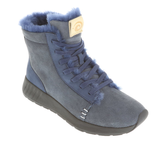 Ms. SNUG High, Navy on Black Sole